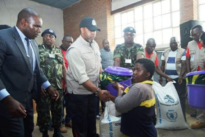Malawi Vice-President Chilima Visits Disaster Victims