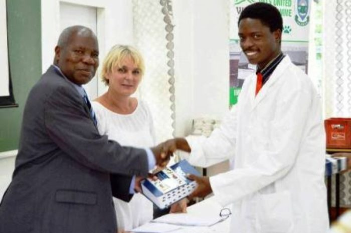 Society for the Protection, Care of Animals Donates Veterinary Manual Books to LUANAR