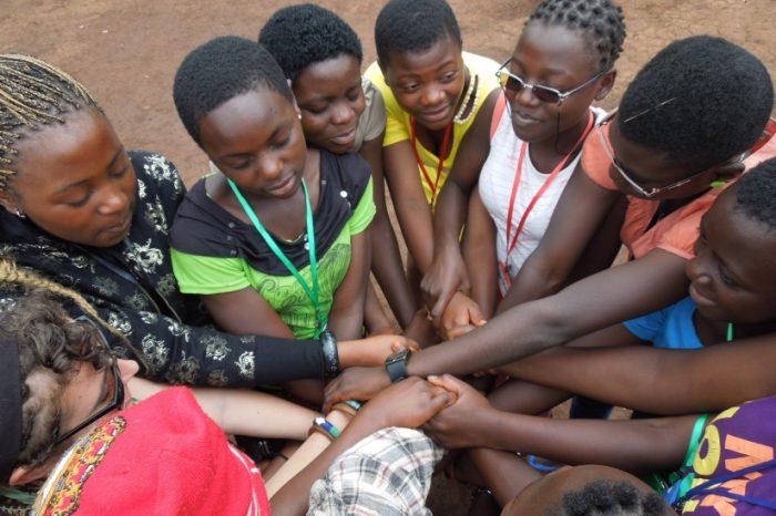 Girls Drilled in Menstrual Hygiene Management