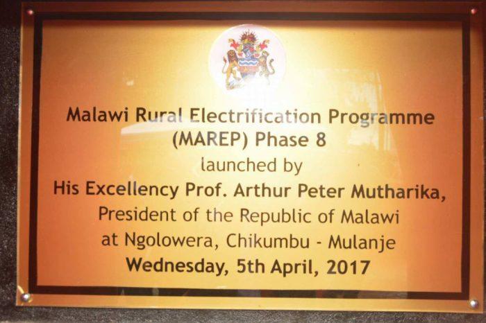 MAREP 8 Extension Lights Up Rural Mulanje