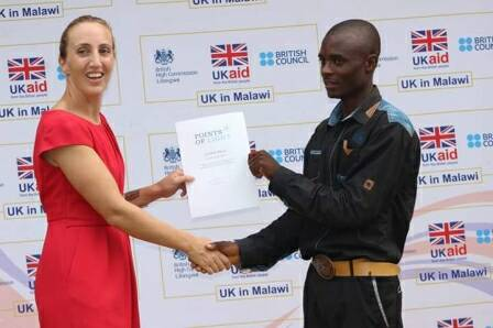 Corled Nkosi Scoops Commonwealth Points of Light Award