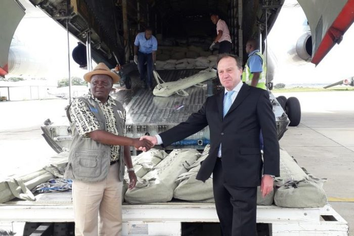 Russia Donates Assorted Relief Items to Malawi