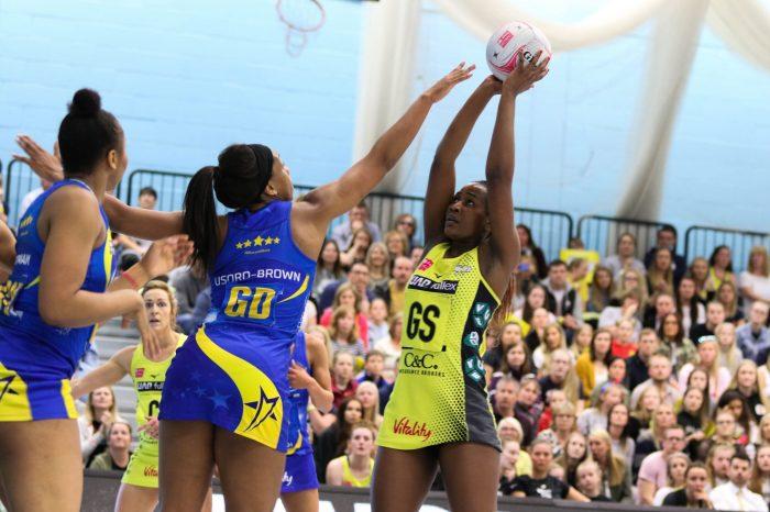 Joyce Mvula leads her Team to UK Netball League Grand Finals