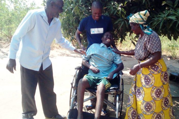 Well-Wishers Donate Wheelchair To Paralysed Man