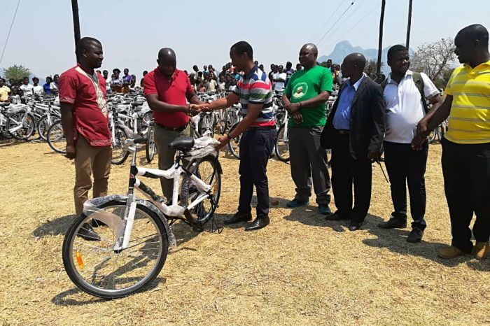 ANSA Distributes K35 Million Sporting Equipment