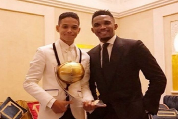 Samuel Eto's Son in Cameroon Under-17 World Cup Squad