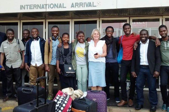 Luanar Vet Students Return Home from Scotland