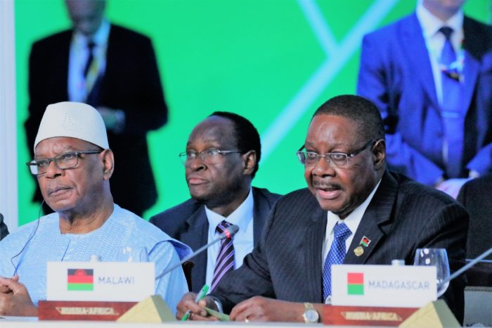 Malawi President Mutharika Asks Russia to Lead in Meaningful Investment