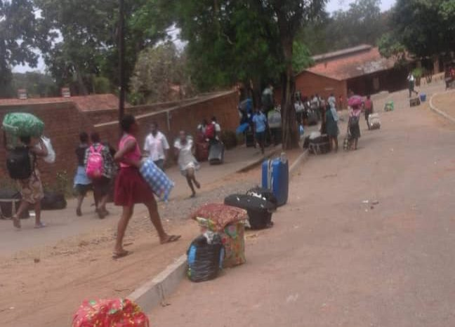 St. Michael's Girls' Secondary School Students  protest