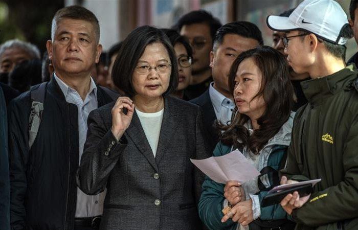 Taiwan:  DPP in LandSlide Victory