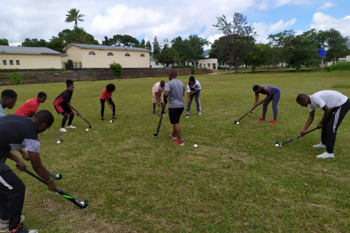 Malawi's First Hockey Academy Registers 320 Trainees