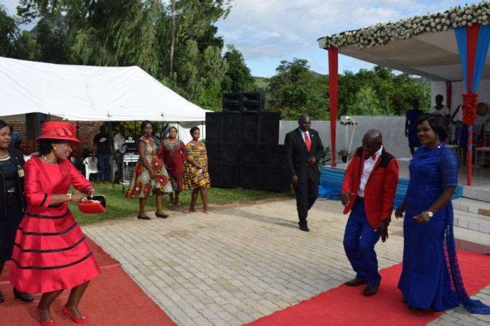 Madame Mutharika Attends Chief Mlumbe's Royal Wedding