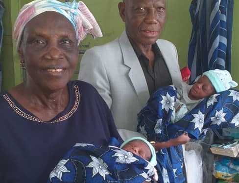 Photos: 68-Year-Old Woman Gives Birth to Twins