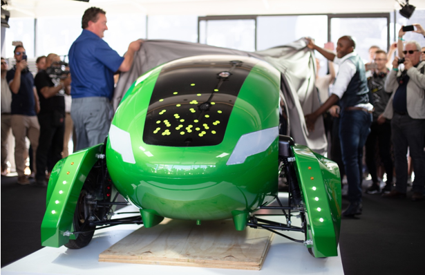 William Sachiti, a Zimbabwean Launches Kar-go, Europe's First Roadworthy Driverless Delivery Car