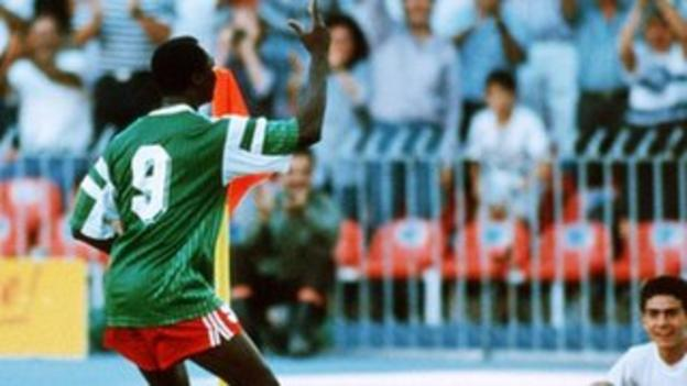Football Players Learnt Dancing From Roger Milla