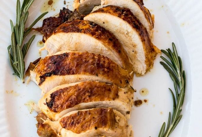 Baked Turkey Breast - Mouth Watering!