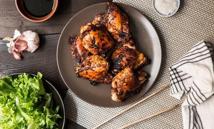 Recipe for Barbecue marinated chicken