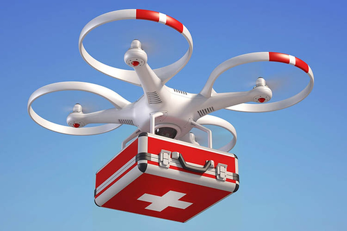 How Drones are used in Hospitals