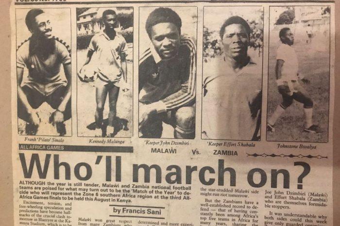 The Malawian Legend Frank Sinalo
