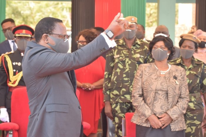 Time To Clear The Rubble: Chakwera Inaugurated As Malawi President