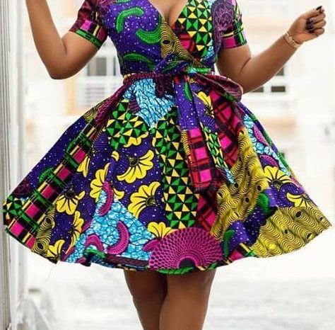 African Prints Make Life colourful