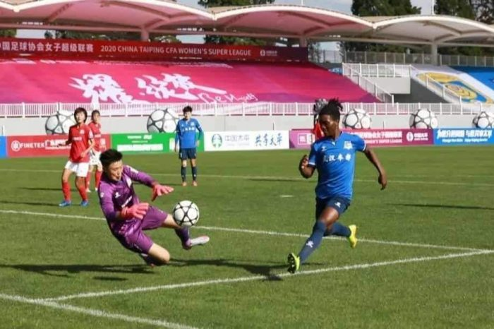 Chawinga Sisters on Target in China