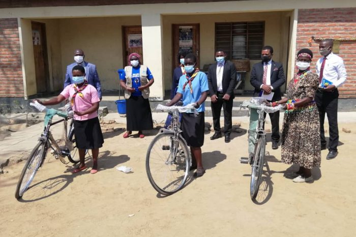 Over 250 Child-Marriage Survivors Receive Bicycles