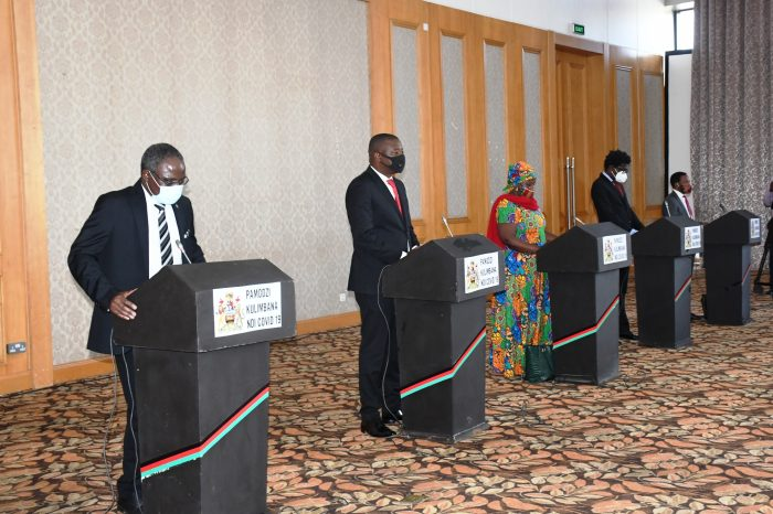 Malawi Limits Public Gatherings to 10 People,  Makes Masks Mandatory
