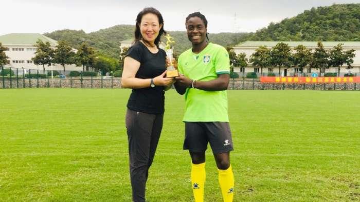 Malawian Striker Tabitha Chawinga Retains Chinese Women's Player of the Year Award