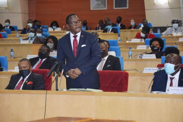 Malawi President Chakwera Answers Oral Questions in Parliament