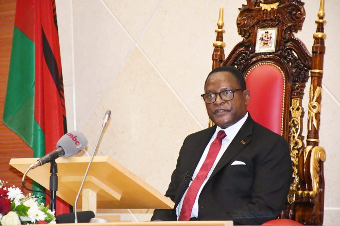 Malawi President Chakwera Says Country's Poverty Is Man-Made Calamity