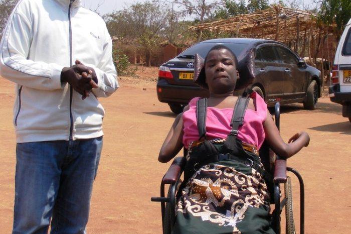 Ochewa Ofewa Visits Disabled Lady In Dowa