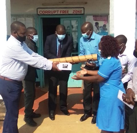Puma Filling Station Donates to Thyolo Hospital