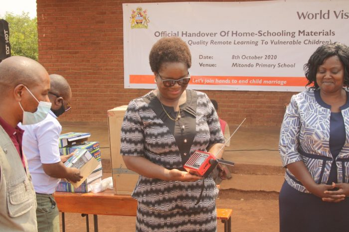 World Vision Malawi Provides Solar Radios, Bloom Books Worth MK17 Million