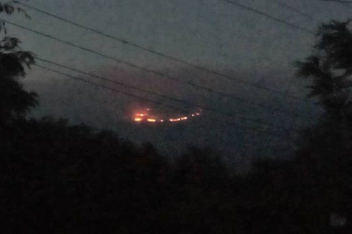 Mount Kilimanjaro On Fire