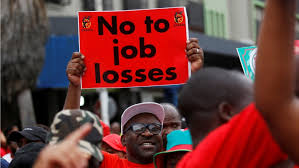 Unions Press South Africa  On Jobs, Economy