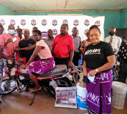 OXFAM donating handwashing facilities in Balaka. Pic. Mary Makhiringa (Mana)