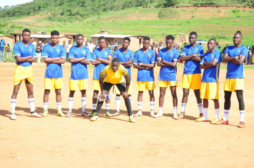 Dedza Young Soccer players pic courtsey of the team